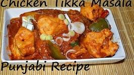 Chicken Tikka Masala Curry- Punjabi Style