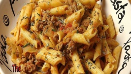 Lamb And Caramelized Onion Pasta