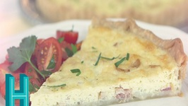 Quiche Lorraine -Hilah's French Brunch