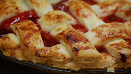 Deep Dish Rhubarb Strawberry Pie