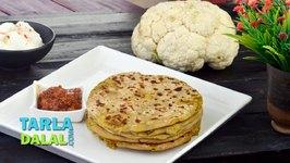 Aloo Gobi ke Parathe, Aloo Cauliflower Paratha Recipe