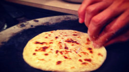 How to Make Punjabi Kulcha- Eggless Indian Flatbread