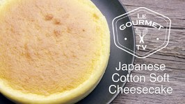 Japanese Cotton Soft Cheesecake Recipe