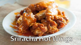 Sriracha hot wings