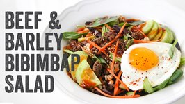 Beef and Barley Bibimbap Salad Recipe: Season 4, Ep. 9