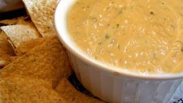 Hot Cheddar Cheese Dip