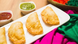 Cheesy Gujiyas- Easy And Delicious Indian Snack- Snack ON!