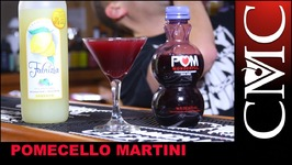 Pomacello Martini, Christmas Cocktails