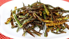 Kurkuri Bhindi Fry Recipe - Crispy Okra fry Indian Recipe - How to make Bhindi Fry  Okra Fry