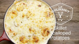 Skillet Scalloped Potatoes Recipe