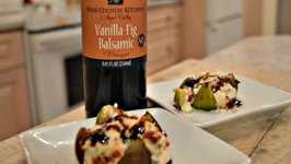 How to Bake Ricotta Stuffed Figs with Napa Valley Vanilla Fig Balsamic