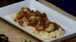 Chef Patrick Feury - Crispy Scallop Ceviche With Meyer Lemon Risotto
