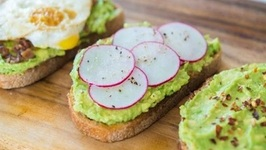What I Eat Nearly Everyday for Breakfast - Avocado Toast 3 Ways