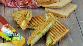 Potato Cheese Grilled Sandwich