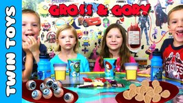 Gross and Gory Kid Candy Review FT Jillian and Addie from Babyteeth4