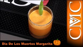 Halloween Cocktail-  Dia De Los Muertos Margarita