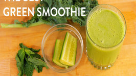 Green Smoothie Recipe - Banana and Protein Powder Free