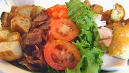 Betty's Summery Hot Brown Salad