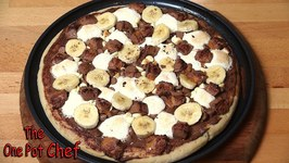 Chocolate Dessert Pizza