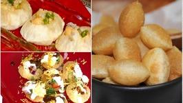 Making of Puri for Golgappa/Panipuri/ Puchka/ Dahipuri and many other Chaats Recipe