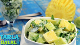 Pineapple Cucumber and Celery Salad - Multi Vitamin Recipe
