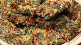 Cereal Treats - Fruity Pebbles Marshmallow Treat
