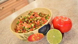How to Make Tomato and  Cucumber Salsa