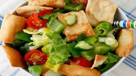 Fattoush Salad - Healthy Side Dish