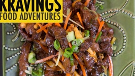 Stir Fry Ginger Beef With Shemeji Mushrooms