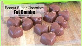Peanut Butter Chocolate FAT BOMBS! My weight-loss FAV!