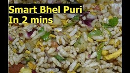 Smart Bhel Puri-Chaat-Indian Spicy Puffed Rice Salad In 2 Minutes