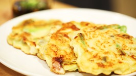 Delicious Korean Seafood Pancakes Recipe