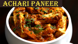Achari Paneer Recipe  Pickled Flavour Cottage Cheese  Ruchi's Kitchen
