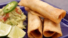 Chicken Flautas And Guacamole With Average Betty!