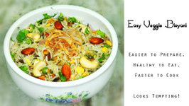 Easy Veggie Biryani Recipe