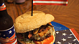 4th of July Firecracker Burger