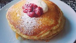 Toaster Buttermilk Pancakes