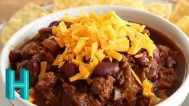 Chili With Beans -Non-Texas Chili