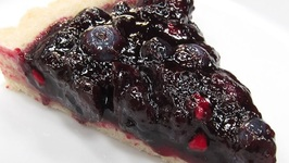 Blueberry Tart With LovelyLadyCakes