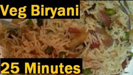 Quickest Veg Briyani-Punjabi Style
