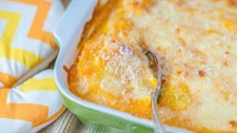 Cheesy Stuffed Pumpkin Shells- Savory Pumpkin Recipe