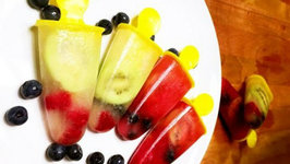 DIY Healthy Fruit Popsicles Recipes for Summer - Super Easy Desserts