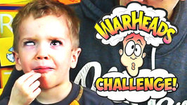 Warheads Challenge Extreme Sour Jelly Bean Kids Edition Review Candy