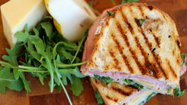 Ham, Gruyere and Pear Sandwich