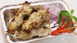 Chicken Malai Kabab or Murgh Malai kabab  Creamy Chicken Kabab Chicken Cheese Kabab