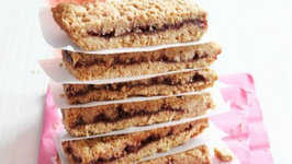 Whole Grain Fruit Filled Bars - Healthy Snacks for Kids