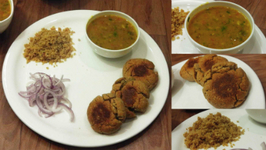 Dal Bati Churma - Rajasthani Food - Winter Special
