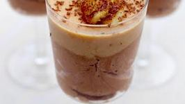 Dessert Recipe: Chocolate Mousse with Peanut Butter Gel