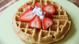 Paleo-friendly Belgian Waffles