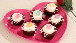 Valentine Mini Brownies